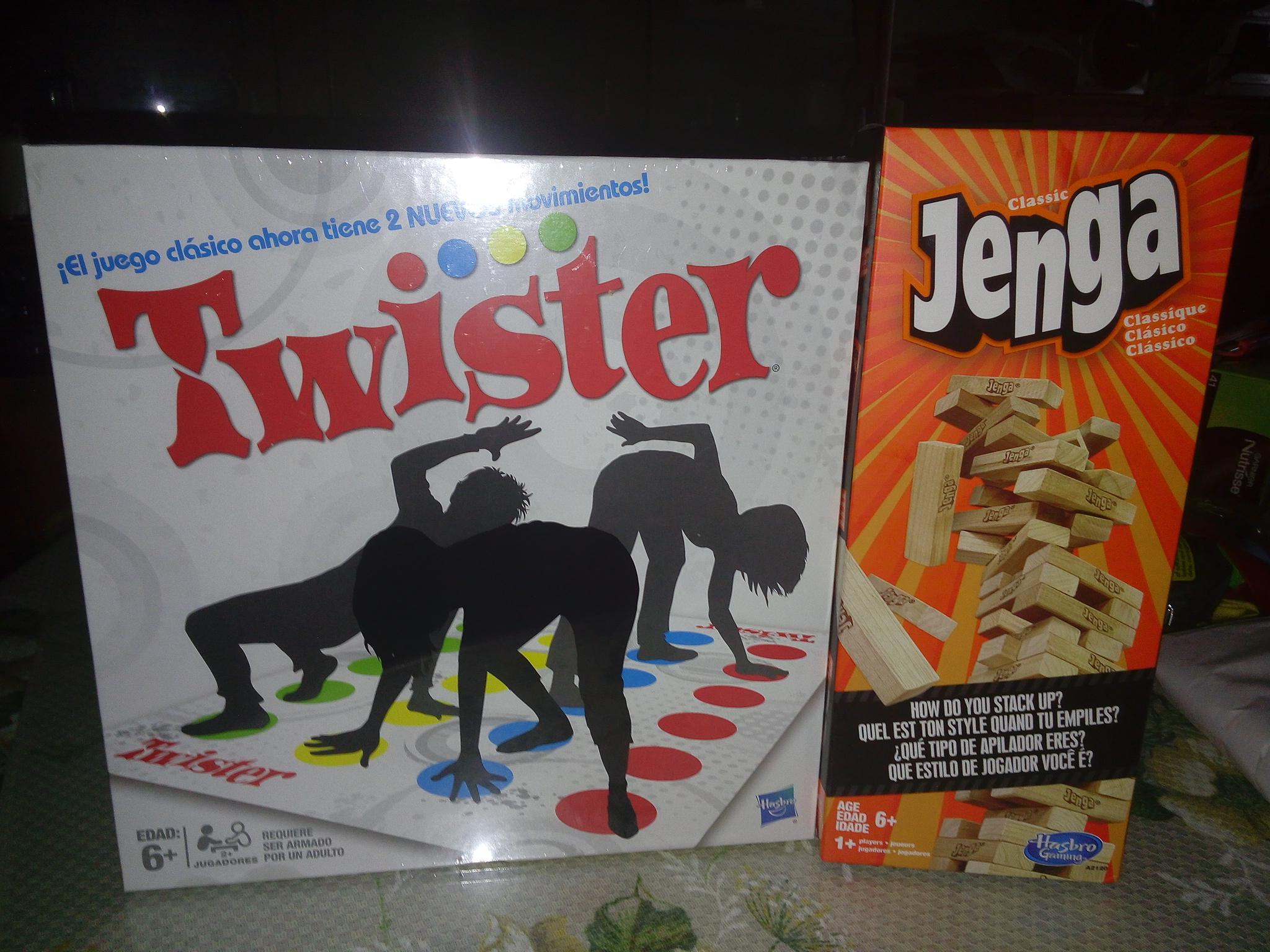 Walmart: Jenga y Twister clasicos rebajados a $179