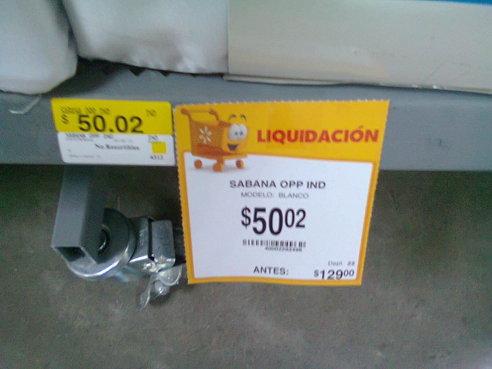 Walmart: Sabana Individual a $50.02 y set de 7 moldes con tapa de aluminio a $15.02