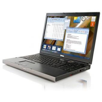 """Linio: Laptop Dell Precision M6500 reacondicionada, Intel core i5,17"""",4gb ram,320hd, 1gb en video nvidia"""