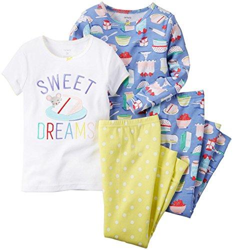 Amazon:  Pijama Carter's para niña talla 4