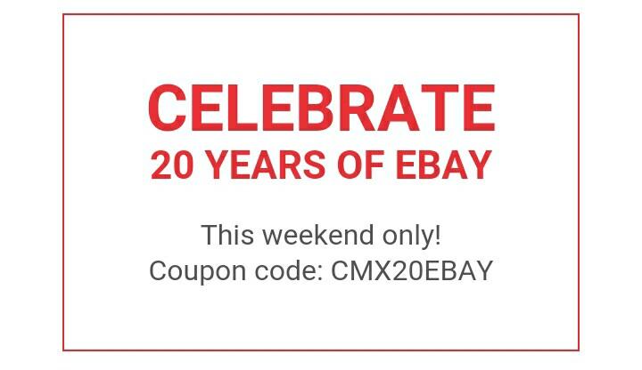 eBay: 20% descuento por su 20 aniversario