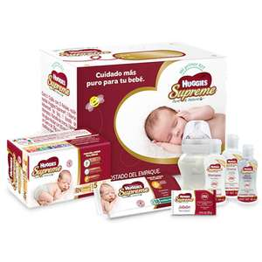 Walmart: Kit Huggies Supreme baby box