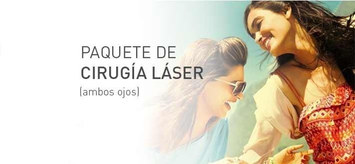 DEVLYN: Paquete Cirugía Laser ojos