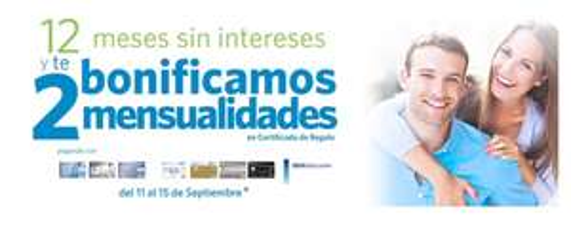 Sams Club: 12 meses sin intereses + 2 mensualidades de bonificación en monedero pagando con Bancomer