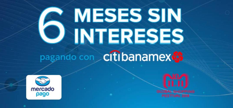 AliExpress: 6 meses sin intereses pagando con  Mercado Pago - Banamex + 10% desc.