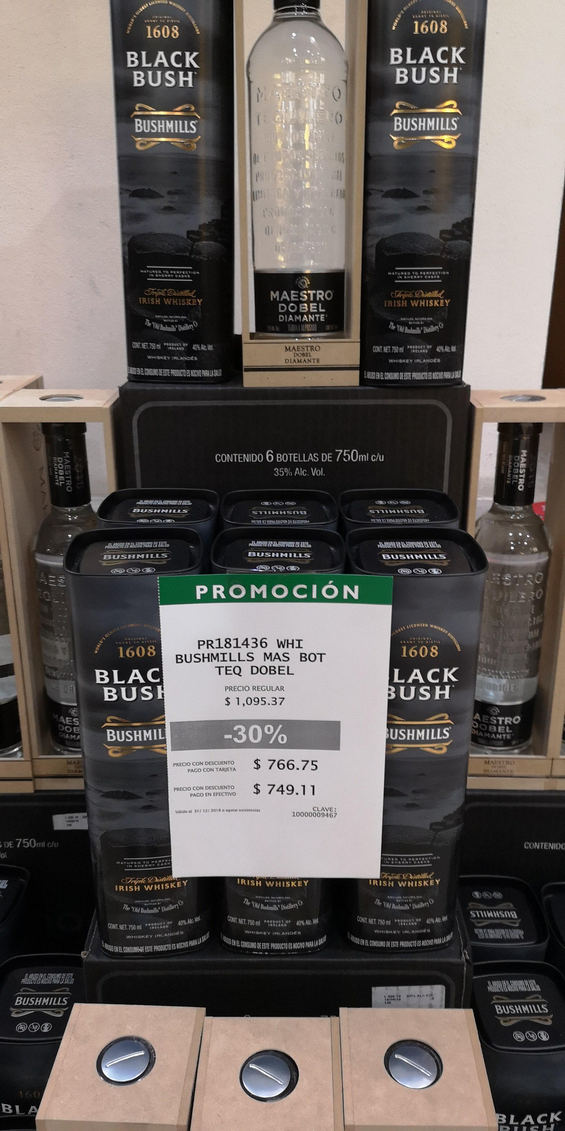 La Europea: Tequila Maestro Dobel + Whiskey Black Bush
