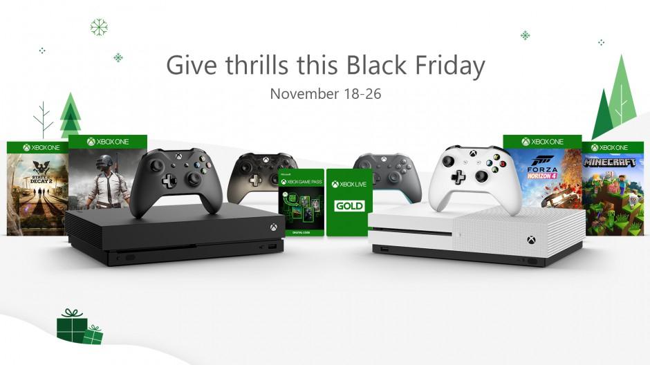 Xbox: Ofertas de juegos el Black Friday