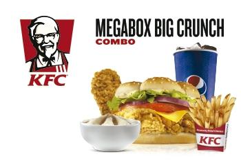 Cupón KFC megabox buen precio