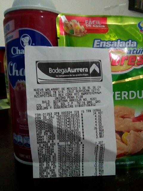 Bodega  Aurrerá Querétaro Crema chantilly de fresa a mitad de precio!!