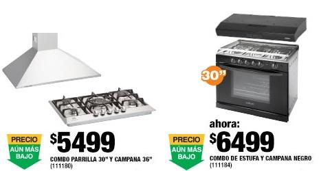 Home Depot: Parrilla y campana de acero inoxidable $5,499