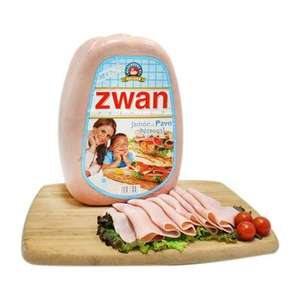 Walmart Super: Jamon de Pavo Zwan 100% Natural $90 Kg (Normal $146)
