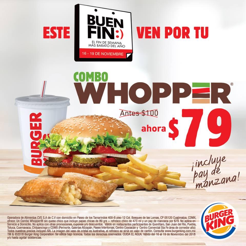 Promociones burger king cupones 2019