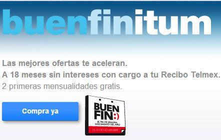 Promociones del Buen Fin 2013 en Telmex