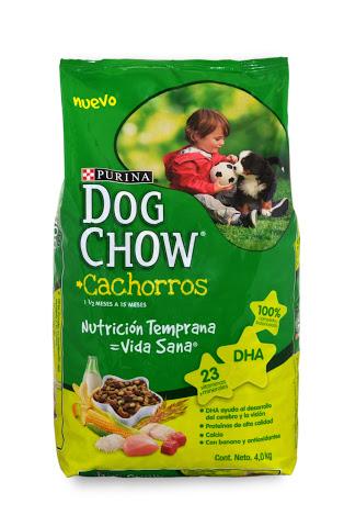 Soriana: Dog Chow Cachorros 4 kg a $99.5