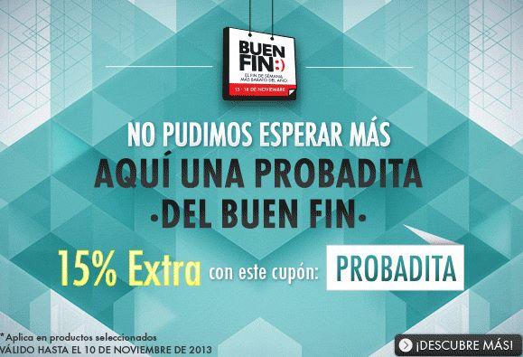 Ofertas del Buen Fin 2013 en Linio: 15% de descuento adicional (incluye iPhone 5C y 5S)