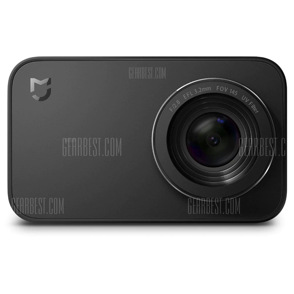 GearBest: Xiaomi Mijia Cámara Mini 30 fps Cámara Acción 4K con Pantalla Táctil - NEGRO