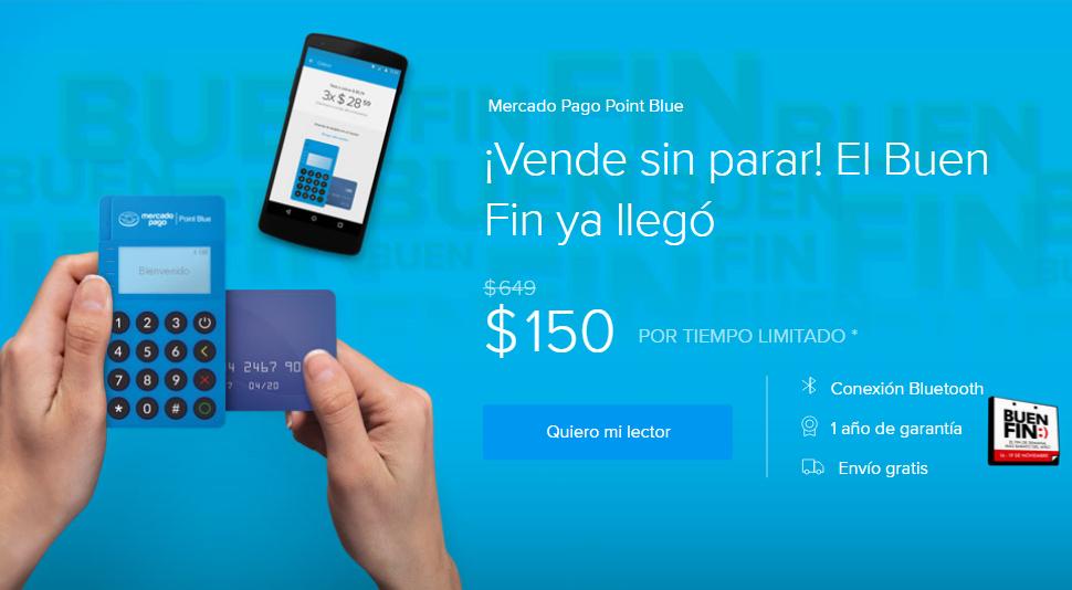 Oferta El Buen Fin 2018 Mercado Pago Blue Point