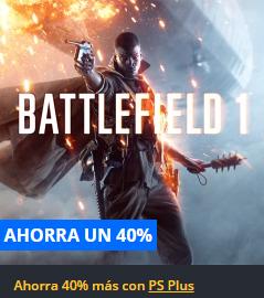 Playstation Store: Battlefield 1 para PS4