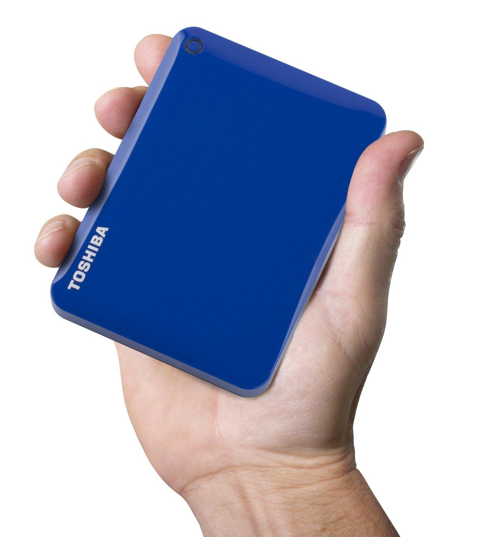 Amazon: Toshiba Canvio Connect Dispositivo de almacenamiento portátil a $835