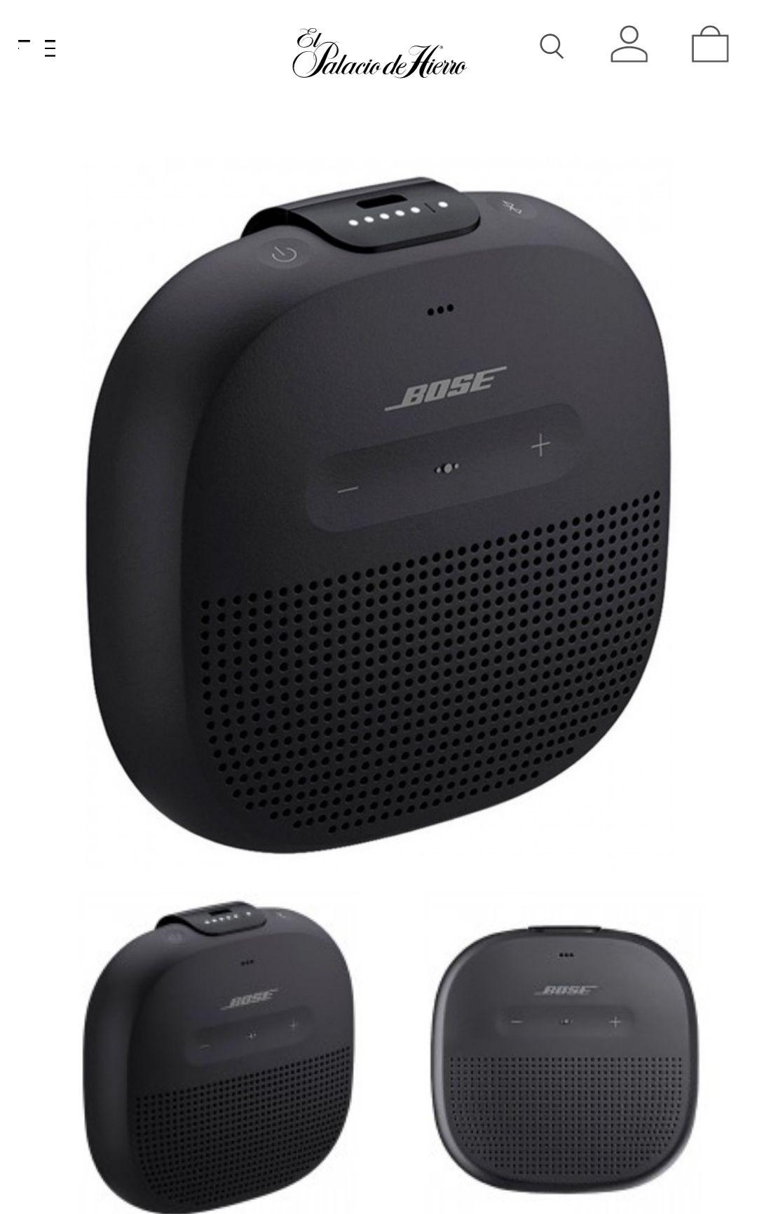 Palacio de Hierro: Bose soundlink micro