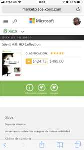 Xbox Marketplace: silent hill hd collection