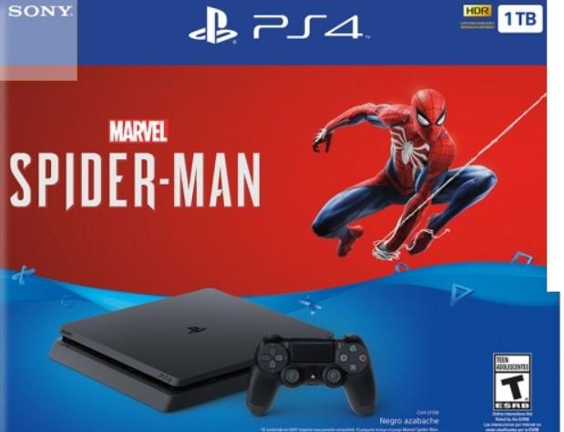 Palacio de hierro : PlayStation Consola PS4 1TB Spiderman a 12 meses