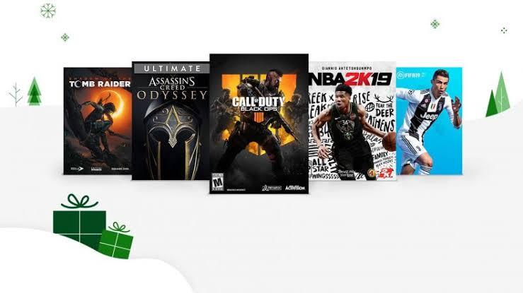 Xbox recopilacion black friday - grandes juegos en 5 y 10 dolares