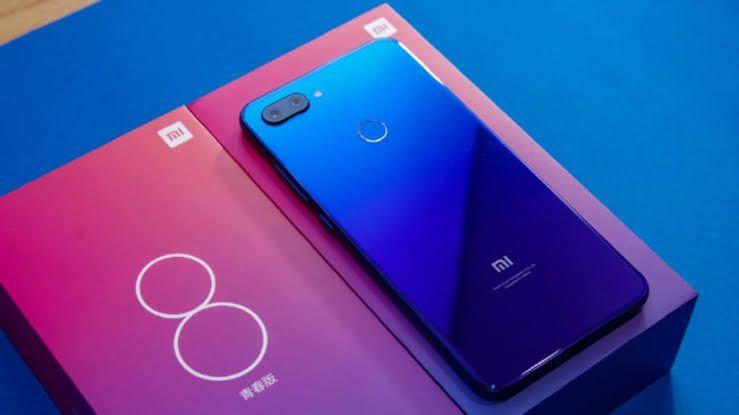 Doto: Xiaomi Mi8 Lite 4/64Gb Azul Aurora