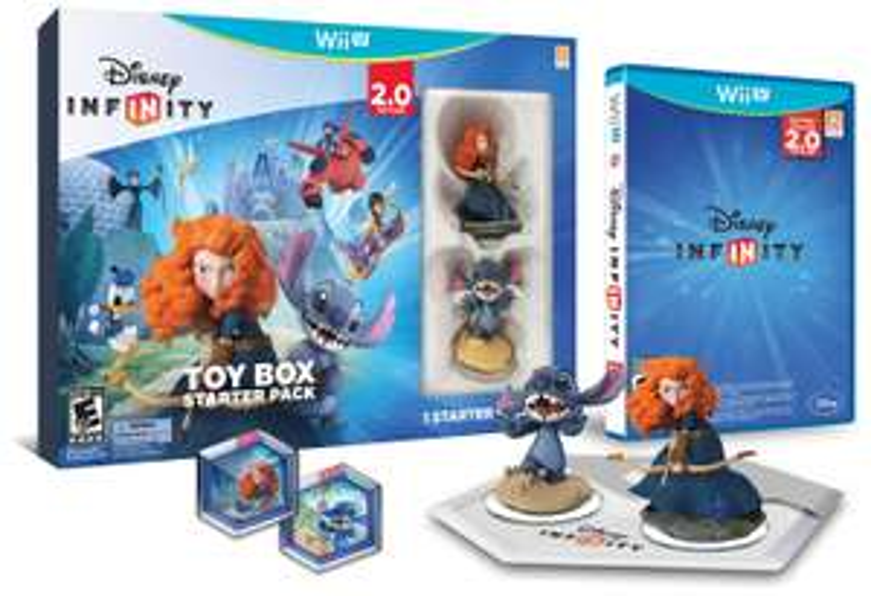 Amazon MX: Disney INFINITY: Toy Box Starter Pack (2.0 Edition) - Wii U
