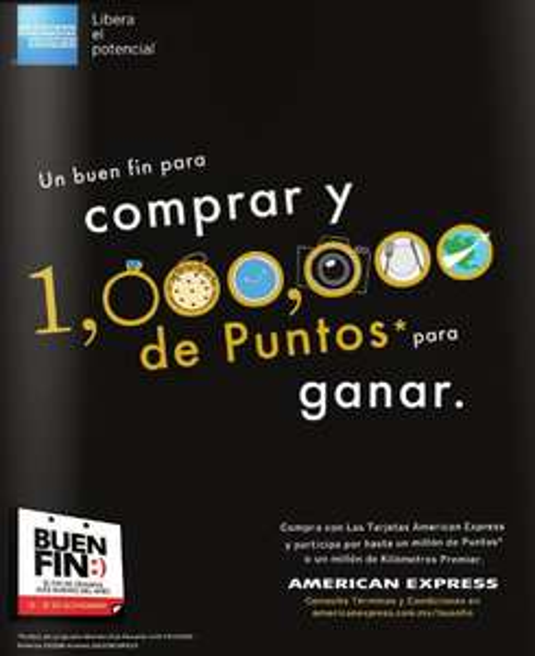 Ofertas del Buen Fin 2013 en American Express
