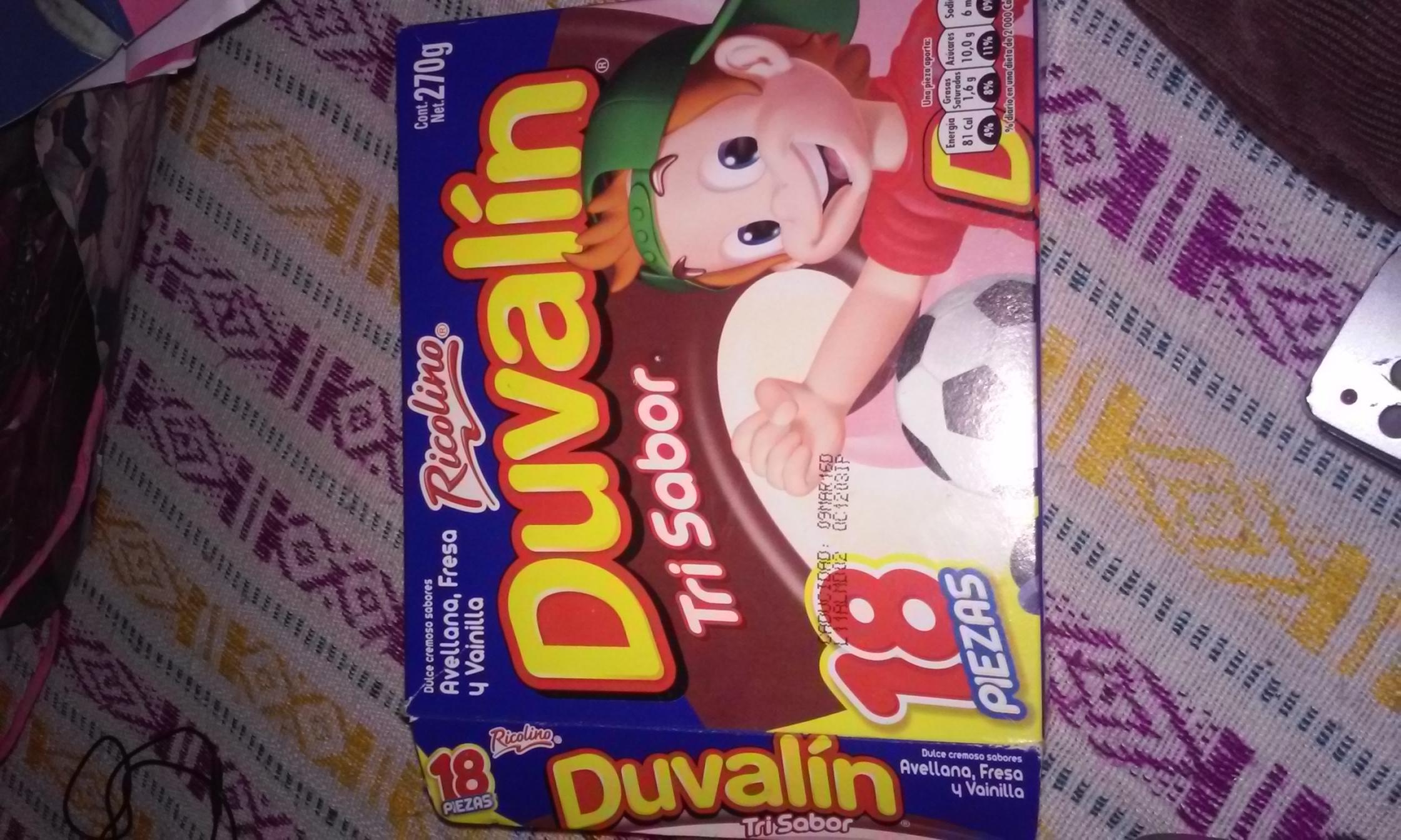 Walmart: Caja de 18 Duvalin a $1.02