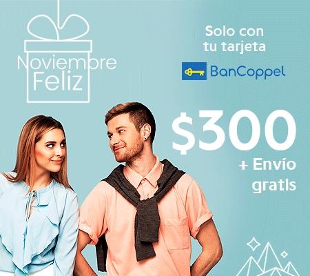 Bancoppel: Descuento de $300 y envio gratis en Privalia pagando con tarjetas Bancoppel (clientes nuevos)