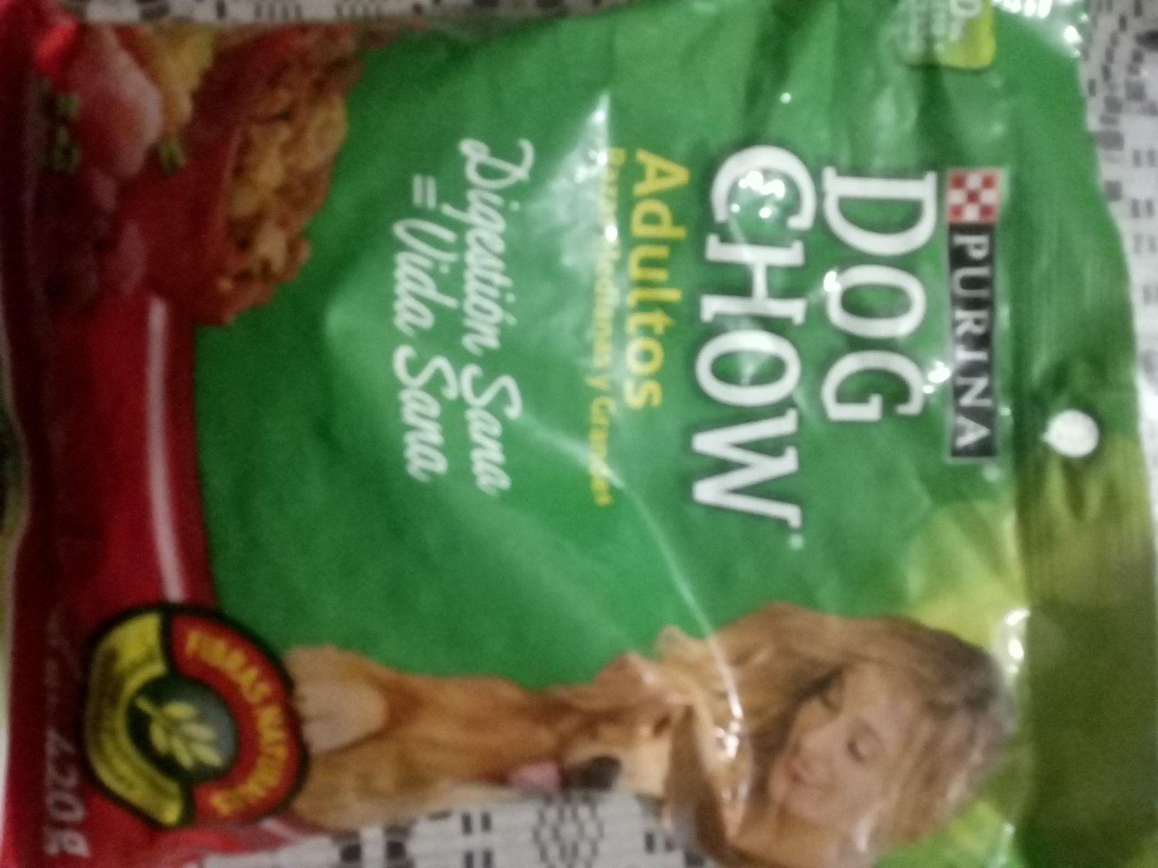 Bodega Aurrera: Sobre alimento Dog chow 420g