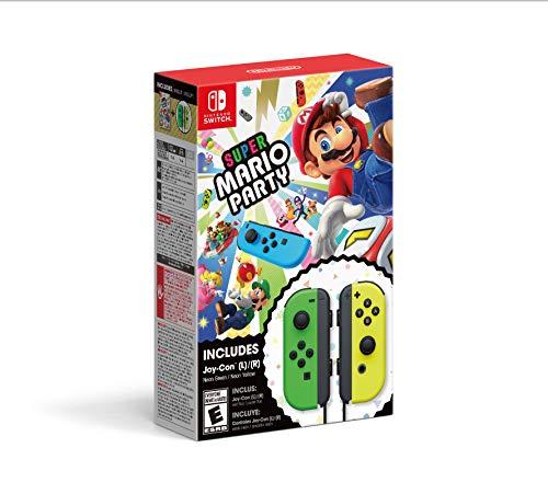 Amazon: Bundle Super Mario Party + Joy-Cons - Nintendo Switch