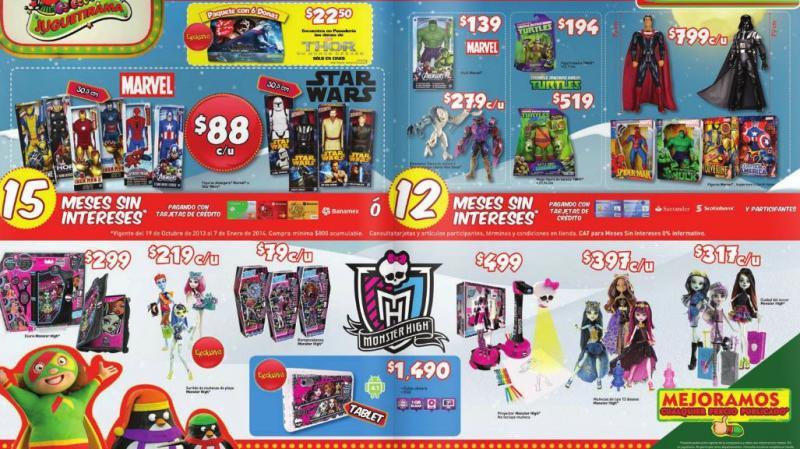 Bodega Aurrerá: Wii reacondicionado $1,390, Barbie $49 y garantía de precio en juguetes