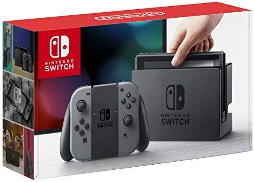 Amazon: Nintendo Switch Gris y Neon con tarjetas participantes