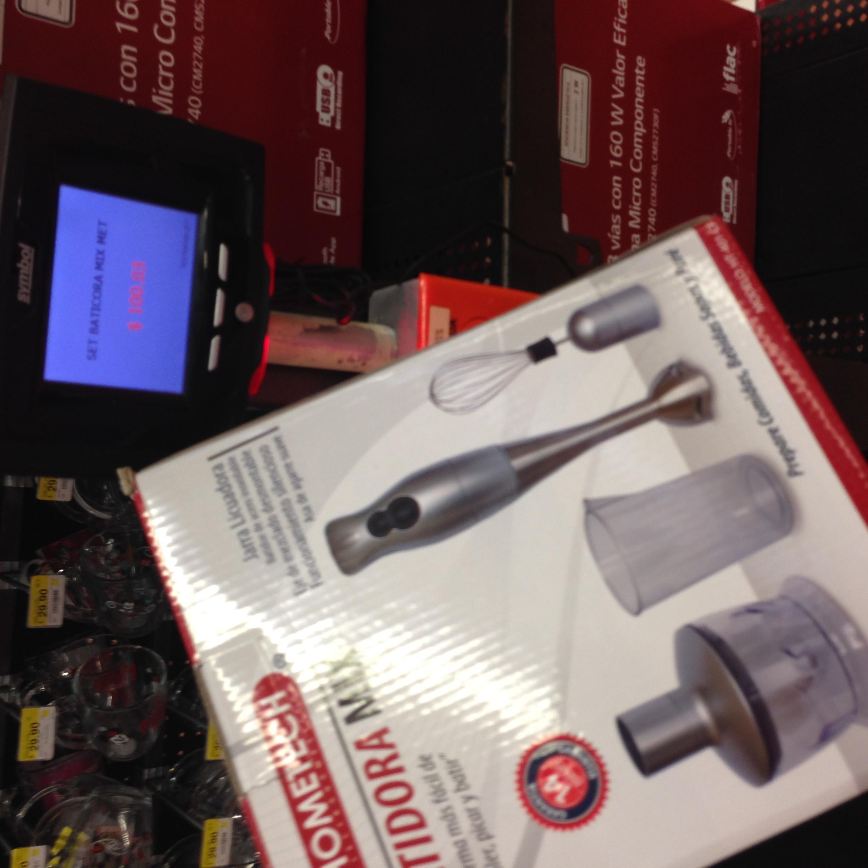 Walmart: batidora mix en 100.03 y aspiradora portátil $299.03