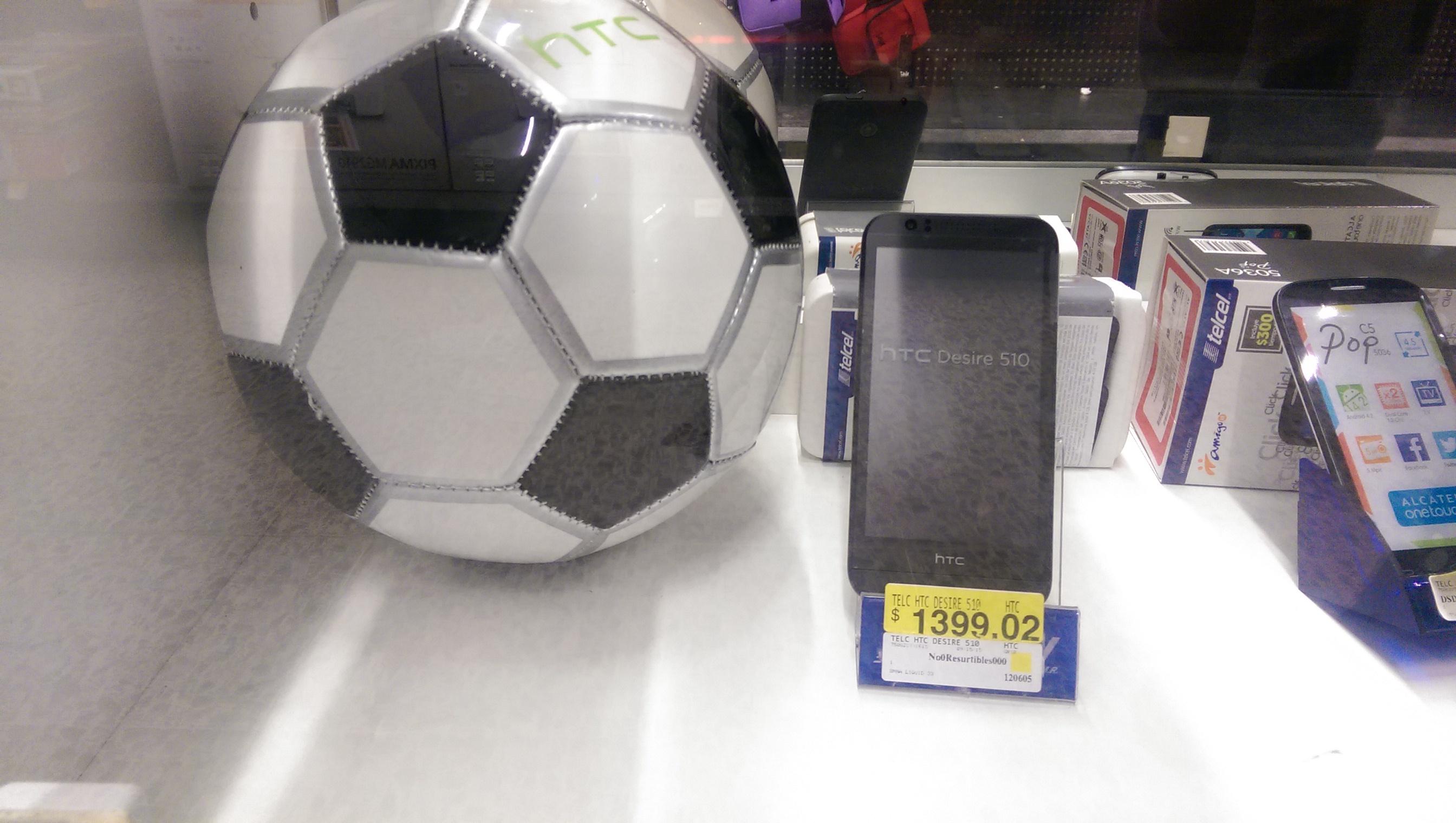 Bodega Aurrerá: HTC DESIRE 510 EN REMATE de $4,299 a $1,399.02