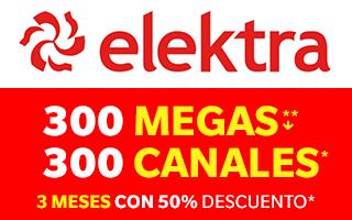 Totalplay: 3 MESES CON 50% DE DESCUENTO + 300 MB Y CANALES + DESCUENTO DE POR VIDA + TV ADICIONAL