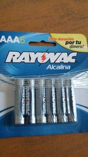 Walmart: Pilas AAA Rayovac a 7.01