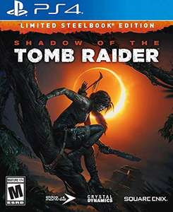 Amazon: Venta Flash PS4 Shadow of the Tomb Raider - Limited SteelBook Edition -