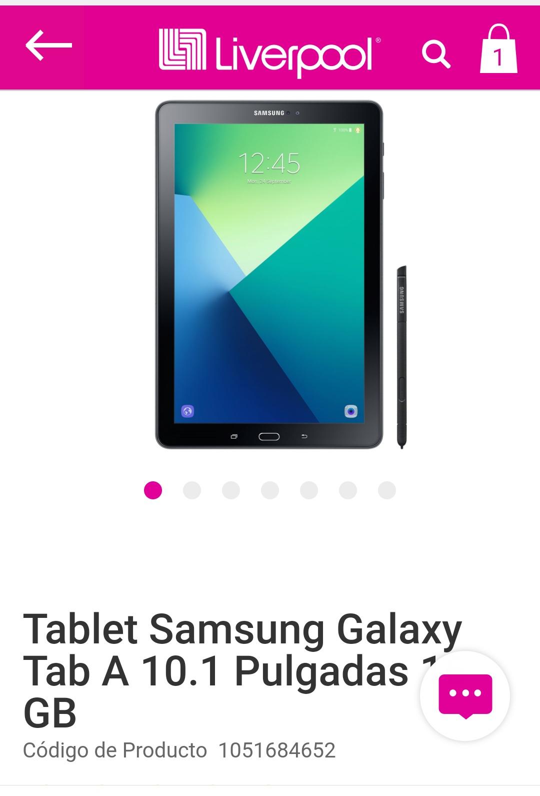 Liverpool: Galaxy Tab A 10 con spen