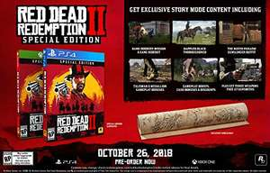 Amazon: Read Dead Redemption 2 Special Edition Xbox One