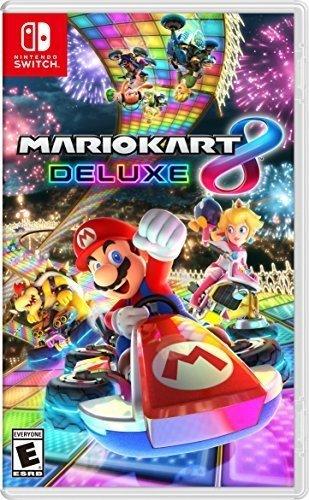 Amazon: Mario Kart 8 Deluxe para Nintendo Switch