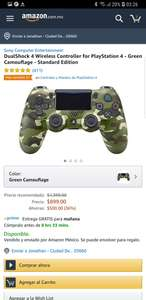 Amazon: Control PlayStation 4 - Green Camouflage - Standard Edition