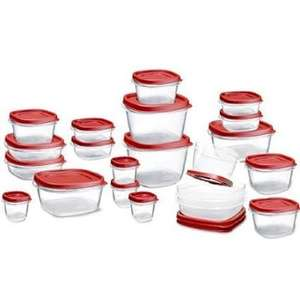 Amazon MX: Set de contenedores Rubbermaid 42 piezas $301