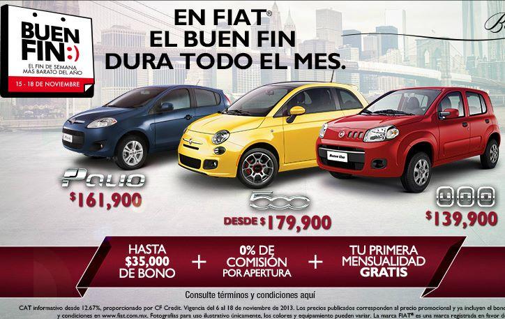 Ofertas del Buen Fin 2013 en Fiat
