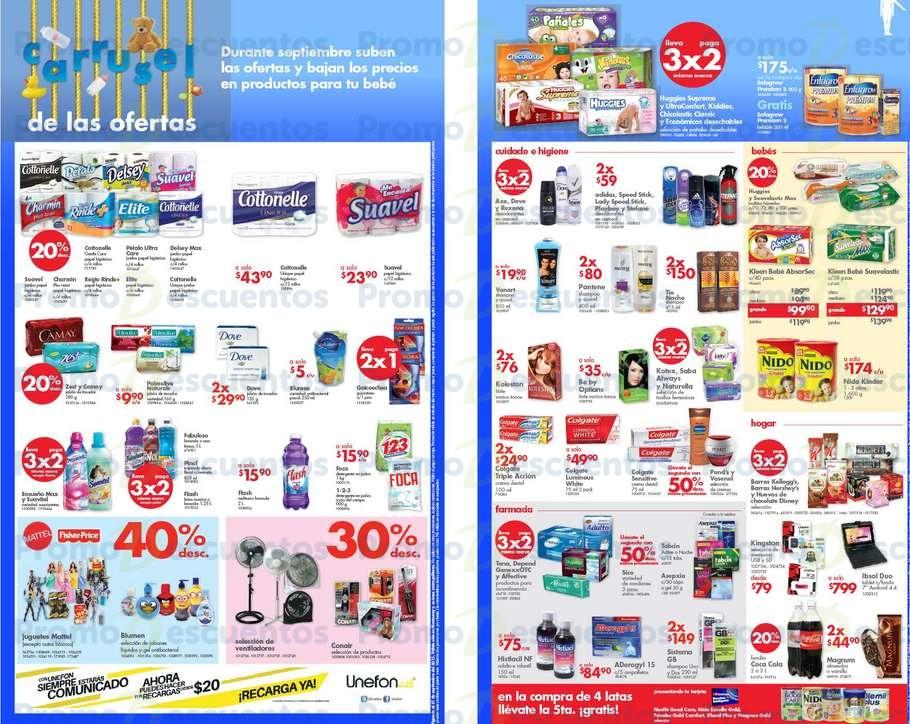 Carrusel de las ofertas en Farmacias Benavides (40% de descuento en juguetes Mattel y más)