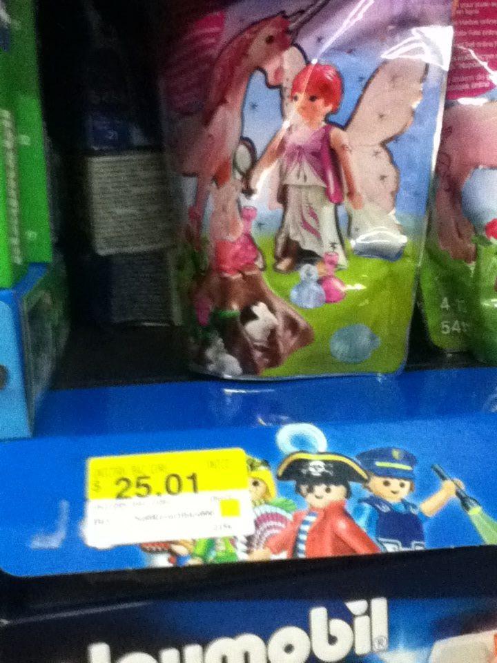 Walmart: playmobil hada a $25.01