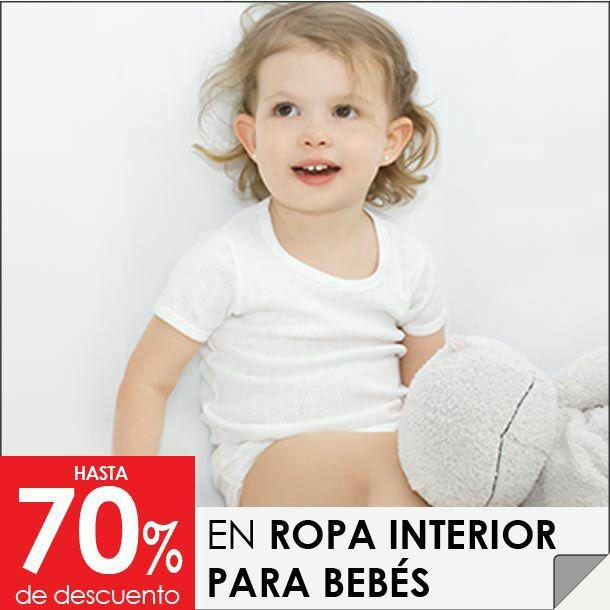 Sears: Ropita interior para bebe dese 17.7 pesitos